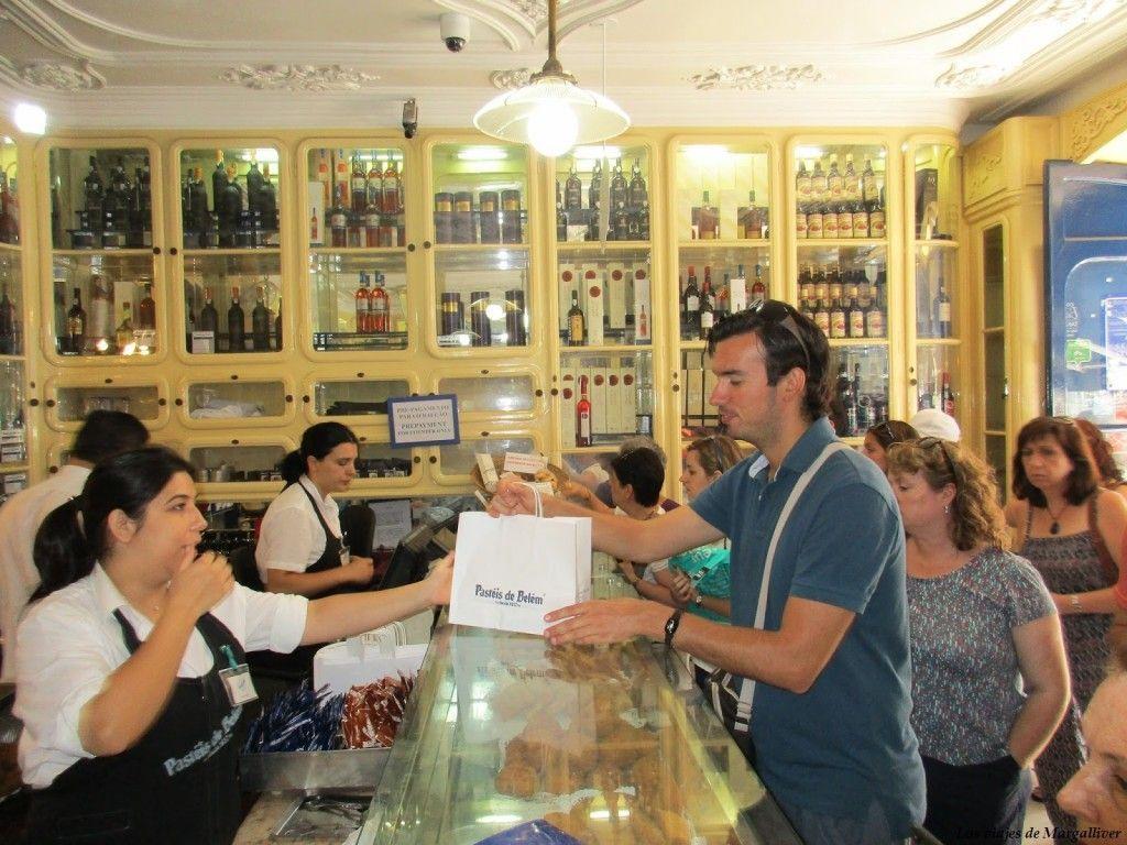 Tienda de Pasteles de Belem en Lisboa - Los viajes de Margalliver